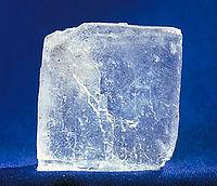 Cristal de cloruro de sodio
