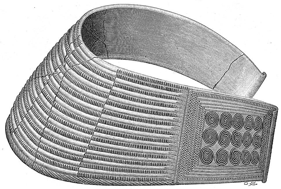 Halsprydnad av brons skåne
