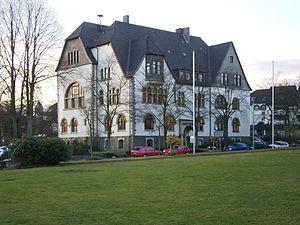 Halver - Halver town hall in 2008
