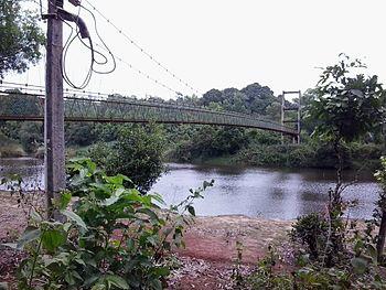 Hanging bridge across River Malathi.jpg