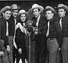 Hank Williams con i Drifting Cowboys