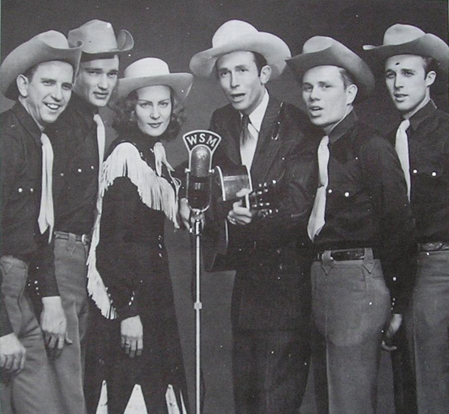 Hank Williams Drifting Cowboys Cropped