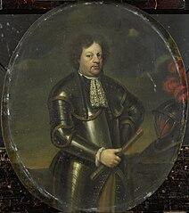 Portrait of Major-General Hans Willem, Baron van Aylva, called The Formidable General