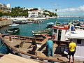 Harbor Scene with Fishing Boats - Salvador - Brazil.jpg