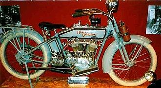 Harley-Davidson - Harley-Davidson 1,000 cc HT 1916
