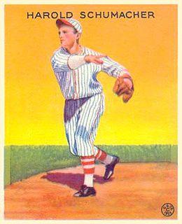 Hal Schumacher American baseball player