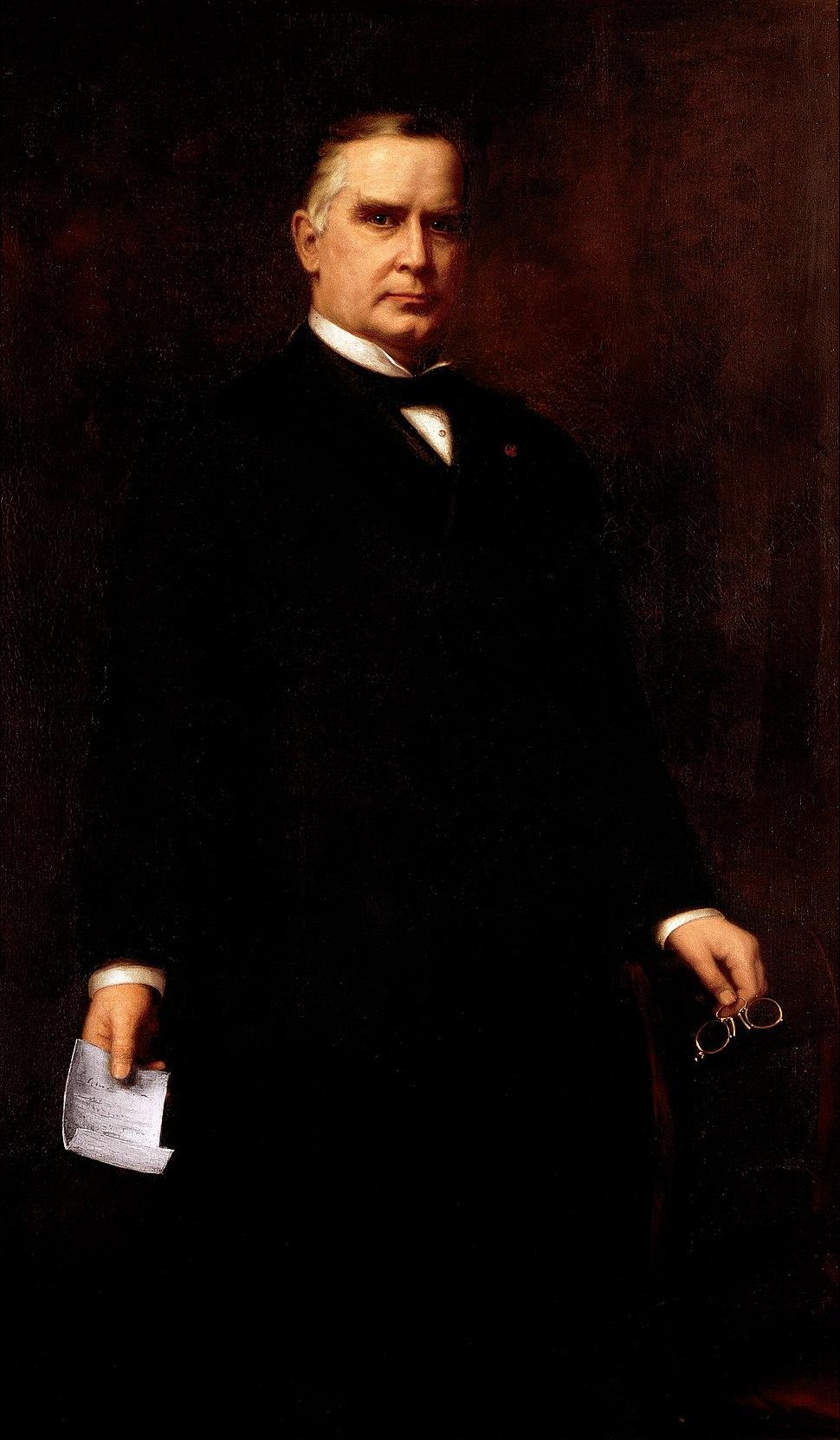 Harriet Anderson Stubbs Murphy - William McKinley - Google Art Project