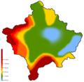 Harta Klimatike e Kosoves.png