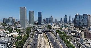 Tel Aviv City in Israel
