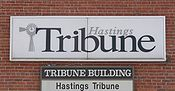 Hastings Tribune sign.JPG