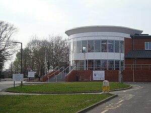 Hazelwick School - Hazelwick School entrance