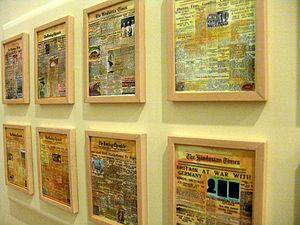 Eternal Gandhi Multimedia Museum - Image: Headlines