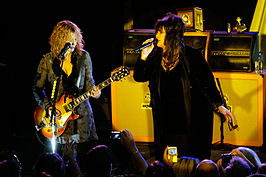 Nancy en Ann Wilson in 2007.