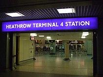 Heathrow Terminal 4 tube entrance.JPG