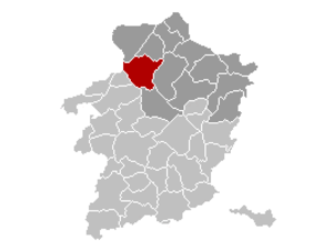Hechtel-Eksel - Image: Hechtel Eksel Location