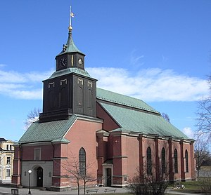 Hedvig's Church in Norrköping, Sweden