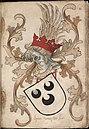 Heer van der Lec - Heer van de Lek - Lord van de Lek - Wapenboek Nassau-Vianden - KB 1900 A 016, folium 11r.jpg