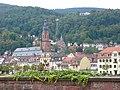 Heidelberg Heiliggeistkirche Bergbahn Molkenkur.JPG