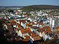 Heidenheim - Ausblick vom Schloß auf das Zentrum.jpg