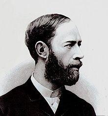 HEINRICH RUDOLF HERTZ, professeur de luniversité de Karlsruhe