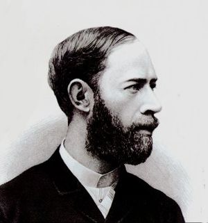 Heinrich Rudolf Hertz licence : domaine public...