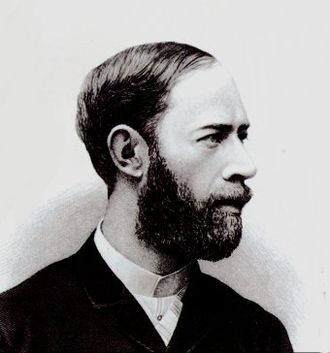1887 in science - Heinrich Hertz.