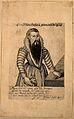 Helena Antonio, a bearded lady. Line engraving. Wellcome V0007122.jpg