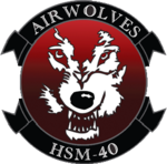 Helicopter Maritime Strike Squadron 40 (US Navy) insignia 2016.png