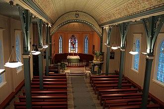Hemsedal - Hemsedal Church  sanctuary
