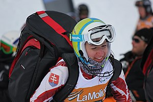 Henrieta Farkašová - Farkašová at the 2013 IPC Alpine World Championships
