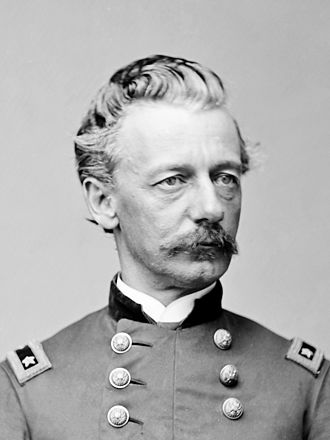 Henry Warner Slocum - Portrait of General Henry W. Slocum by Mathew Brady, ca. 1861