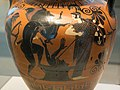 Heracles, Eurystheus, Attic black-figure amphora, Antimenes, 510 BC, Berlin F 1865, 141631.jpg