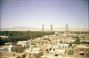 1979 Herat uprising - Herat in 1969.