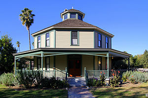 Heritage Square Museum - Longfellow-Hastings Octagon House