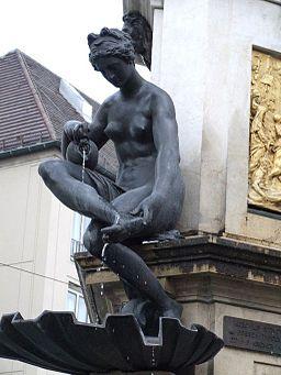 Herkulesbrunnen Augsburg Najade 3