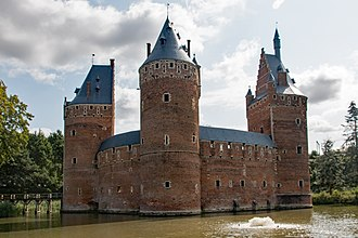Beersel - Image: Het kasteel van Beersel 01