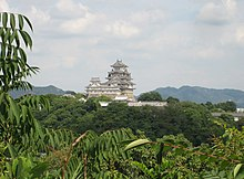 Himeji Castle seen from west 02.jpg