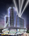 Hip Hop Hall of Fame Museum & Hotel Mega-Entertainment Complex Night Rendering.jpg