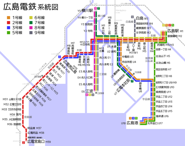 Hiroshima Electric Railway map.png