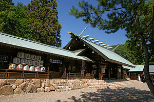 Hirota Shrine - Haiden
