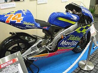 Gresini Racing - Daijiro Kato's championship-winning 2001 Honda NSR250