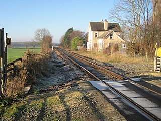 Hopperton railway station Disused railway station in North Yorkshire, England