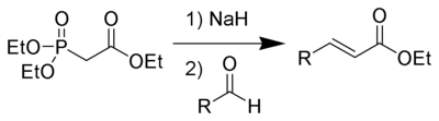 Horner-Wadsworth-Emmons Reaction Example.png