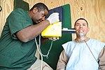 Hospital Corpsman conducts a dental x-ray DVIDS358566.jpg