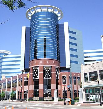 Kalamazoo, Michigan - The Radisson Plaza Hotel & Suites hotel in Kalamazoo is a popular site for conventions.