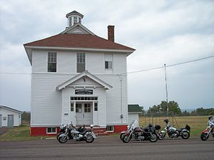 Eagle River, Michigan - The Houghton Township Community Center in Eagle River