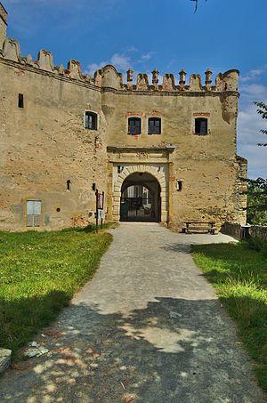 Boskovice - Image: Hrad Boskovice opevnění, okres Blansko (06)