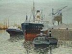 Hugo Baar - Schiffe im Hafen.jpg