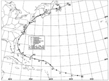 graphic regarding Printable Hurricane Tracking Map known as Tropical cyclone monitoring chart - Wikipedia