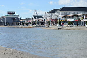 Effects of Hurricane Sandy in Maryland and Washington, D.C. - Beach erosion in Ocean City